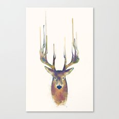 Deer // Steadfast Canvas Print
