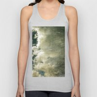 Partly Cloudy Unisex Tank Top
