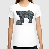 Polar Bears Womens Fitted Tee White SMALL