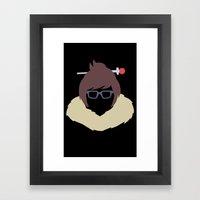Mei Framed Art Print