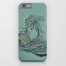Kissing The Wave iPhone 6s Slim Case
