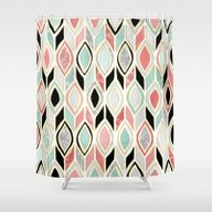Patchwork Pattern In Cor… Shower Curtain