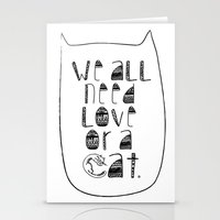 Le Chat. Stationery Cards