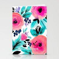 Savannah Flower Stationery Cards