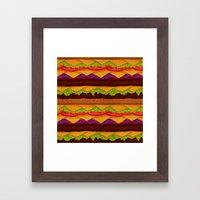Infinite Burger Framed Art Print