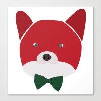 Fox Vermelha Canvas Print