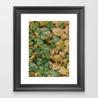 leaves evolved 3 Framed Art Print