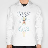 Hoody featuring Spring Fairy by Freeminds