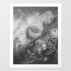 All You Restless Things Art Print