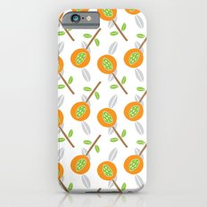 Orange Blossoms Slim Case iPhone 6s
