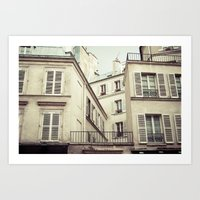 Paris Architecture Art Print