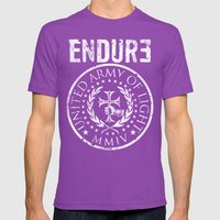 ENDURE SEAL Mens Fitted Tee Ultraviolet SMALL