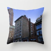 New York City Buildings … Throw Pillow