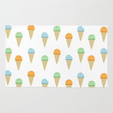 Ice Cream Pattern Rug