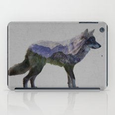 The Rocky Mountain Gray Wolf iPad Case