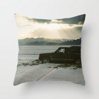 A Salt Place  Throw Pillow