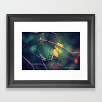 Sweet November Framed Art Print