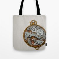 Tote Bag featuring Pieces of Time by Megs stuff...