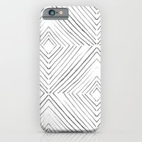 iPhone Cases featuring Black Lines by Georgiana Paraschiv