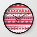 Eastern Lines Wall Clock