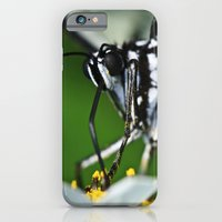 iPhone & iPod Case featuring The messy work of a Madam Butterfly by MistyAnn