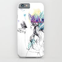 iPhone & iPod Case featuring Nature Girl by Holly Sharpe