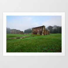 Barrow Abbey Art Print