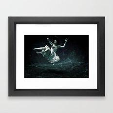 Abyss Of The Disheartene… Framed Art Print