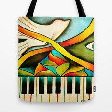 Piano- Behold Tote Bag