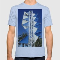 Wind Sails Mens Fitted Tee Athletic Blue SMALL