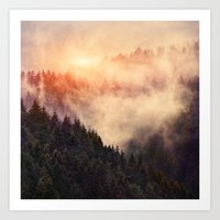 forest Art Prints featuring In My Other World by Tordis Kayma