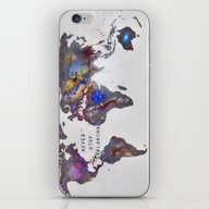 Star Map. Never Stop Exp… iPhone & iPod Skin