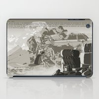 Parasomnia 04 n&b iPad Case