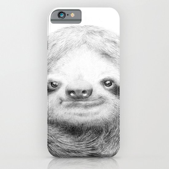sloth iphone case sloth iphone amp ipod by eric fan society6 12989