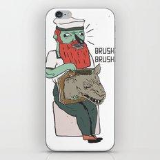 brushie brushie iPhone & iPod Skin