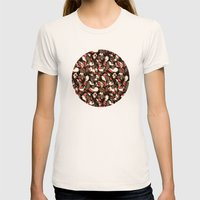 all that's left Womens Fitted Tee Natural SMALL