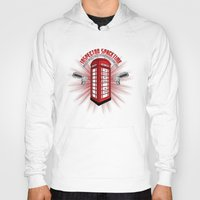 Hoody featuring Inspector Spacetime by Wersns