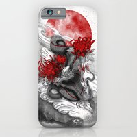 iPhone Cases featuring Dragon by Marine Loup