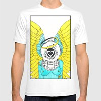 Halo Mens Fitted Tee White SMALL