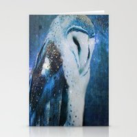 The Owl Of Winter Stationery Cards