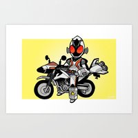 FourzeBike Mini-Print Art Print