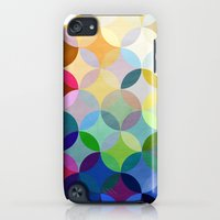 iPod Touch Cases featuring Circular Motion by Steven Womack