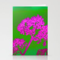 Funky Floral - JUSTART © Stationery Cards