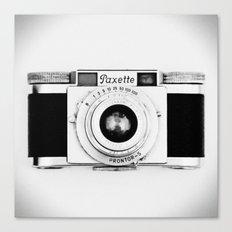 Paxette vintage camera Canvas Print