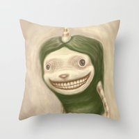 Smile No Matter What Throw Pillow