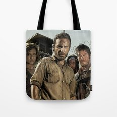 The Walking Dead - The Crew Tote Bag