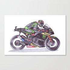 Ballpoint Pen, 4, Andrea Dovizioso Canvas Print