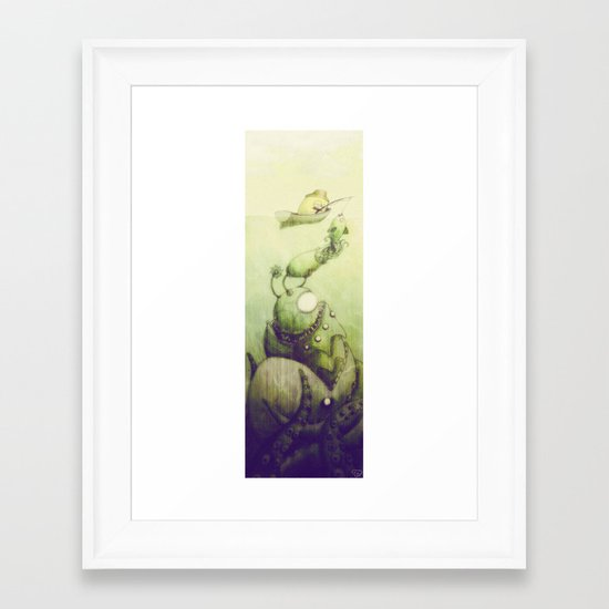Ooli Sea Framed Art Print