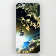 Ski in the Sky iPhone & iPod Skin