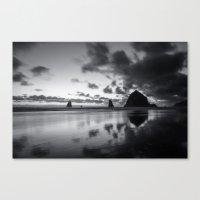 Racing Sky Canvas Print
